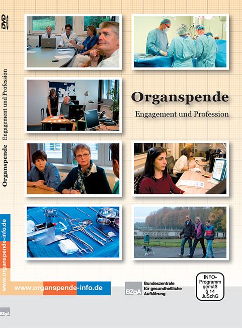 """Bild zu DVD """"Organspende - Engagement und Profession"""""""