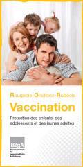 Bild zu Faltblatt zur Impfung gegen Masern, Mumps und Röteln - Französisch