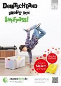 """Bild zu Plakat """"Deutschland sucht den Impfpass"""" - Motiv Breakdancer"""