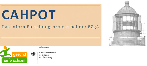 Logografik CAHPOT - Das inforo Forschungsprojekt bei der BZgA