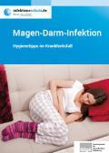 """Bild zu Broschüre """"Magen-Darm-Infektion"""" Hygienetipps im Krankheitsfall"""