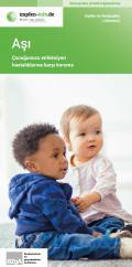 Bild zu Impfen - Schutz für Ihr Kind vor Infektionskrankheiten - Türkisch
