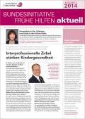Bild zu Bundesinitiative Frühe Hilfen aktuell. Ausgabe 3/2014