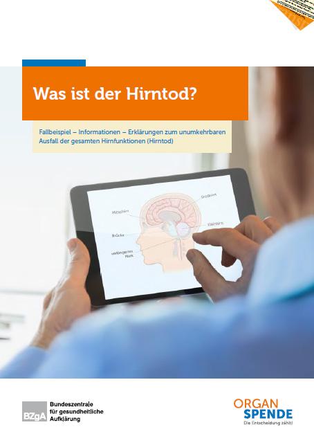 Bild zu Was ist der Hirntod? Fallbeispiel — Informationen — Erklärungen zum Ausfall der gesamten Hirnfunktionen (Hirntod)