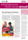Bild zu Bundesinitiative Frühe Hilfen aktuell. Ausgabe 2/2016