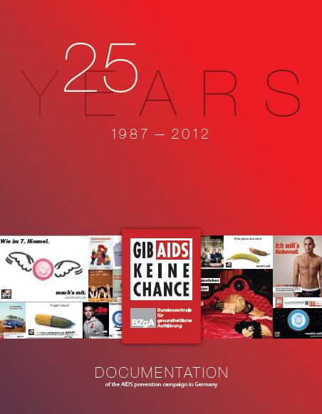 """Bild zu Dokumentation """"Gib Aids keine Chance"""" - Englisch"""