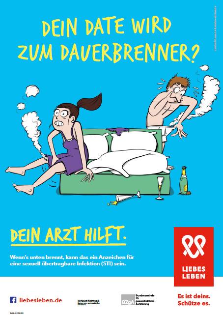 """Bild zu LIEBESLEBEN 2018 - Innenraumplakat Motiv """"Dauerbrenner"""""""