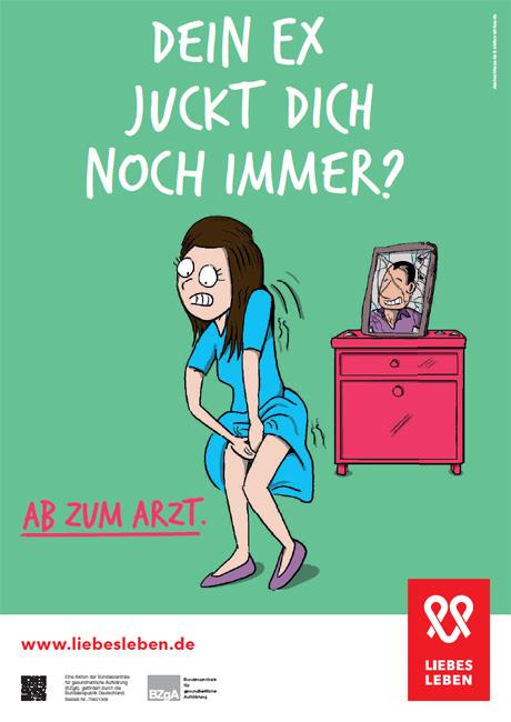 "Bild zu LIEBESLEBEN 2016 - Innenraumplakat Motiv ""Ex"""