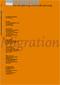 Titelseite der Broschüre: Forum Sexualaufklärung Heft 3-2006 - Migration