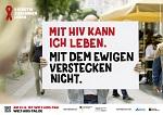 """Kampagnenmotto zum Welt-AIDS-Tag 2016: """"#positivzusammenleben zeigt wieder Gesicht"""""""