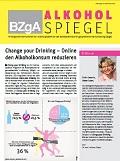 Titelseite des Newsletterss Alkoholspiegel - Augabe Dezember 2016