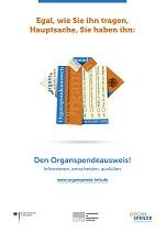Organspende Plaket