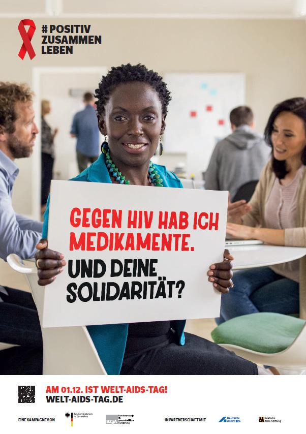 """Bild zu DIN A2-Plakat Motiv """"Solidarität"""""""