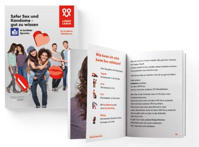 Bild zu Safer Sex und Kondome - gut zu wissen in Leichter Sprache
