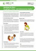 Bild zu So gelingt's: Stress- und schmerzarmes Impfen - Merkblatt mit hilfreichen Tipps für Eltern