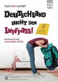 """Bild zu """"Deutschland sucht den Impfpass"""" - Motiv Rucksack"""