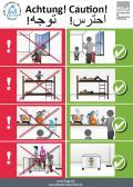 "Abbildung Plakat ""Kindersicherheit in Flüchtlingsfamilien"""