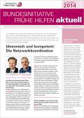 Bild zu Bundesinitiative Frühe Hilfen aktuell. Ausgabe 1/2014