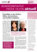 Bild zu Bundesinitiative Frühe Hilfen aktuell. Ausgabe 3/2017
