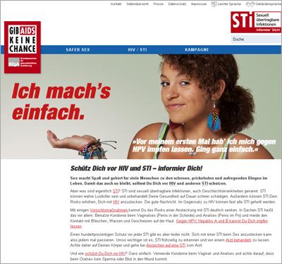 Screenshot der Internetseite www.machsmit.de
