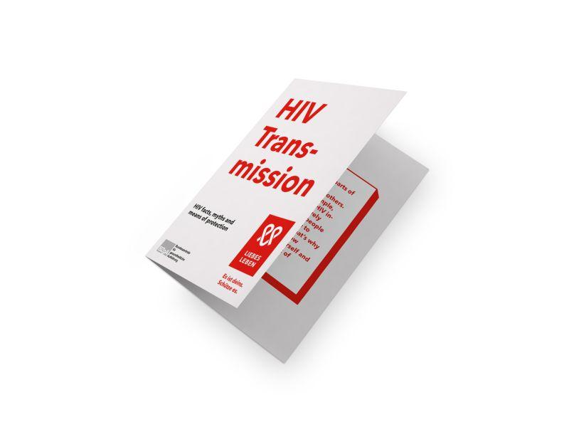 Bild zu HIV-Übertragung. Wo Risiken bestehen, wo nicht und wie man sich schützen kann. (englisch)