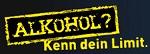 """Logo der Kampagne zur Alkoholprävention """"Kenn dein Limit"""" für Jugendliche"""