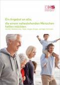 Titelblatt der Broschüre: Ein Angebot an alle, die einem nahestehenden Menschen helfen wollen...
