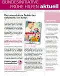 Bild zu Bundesinitiative Frühe Hilfen aktuell. Ausgabe 4/2017