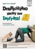 """Bild zu Plakat """"Deutschland sucht den Impfpass"""" - Motiv Sofa"""