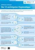 """Bild zu Plakat """"10 Hygienetipps"""""""