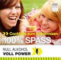 Titelseite der Broschüre: Cocktails zum Selbermixen - 100% Spass