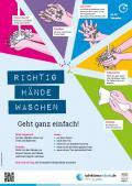 """Bild zu Plakat """"Richtig Händewaschen"""" für Grundschulen"""