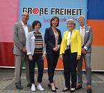 """Rednerinnen zur Ausstellungseröffnung """"Große Freiheit"""""""