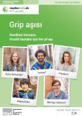 Bild zu Grippeimpfung - Schützen Sie sich. Jährliche Impfung für chronisch Kranke. - Türkisch