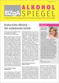 Titelseite des Newsletterss Alkoholspiegel - Augabe Juni 2016