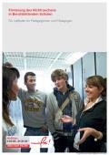Titelseite des Leitfadens: Förderung des Nichtrauchens in Berufsbildenden Schulen