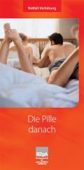 Foto zur Broschüre: Die Pille danach - Faltblatt, Deutsch