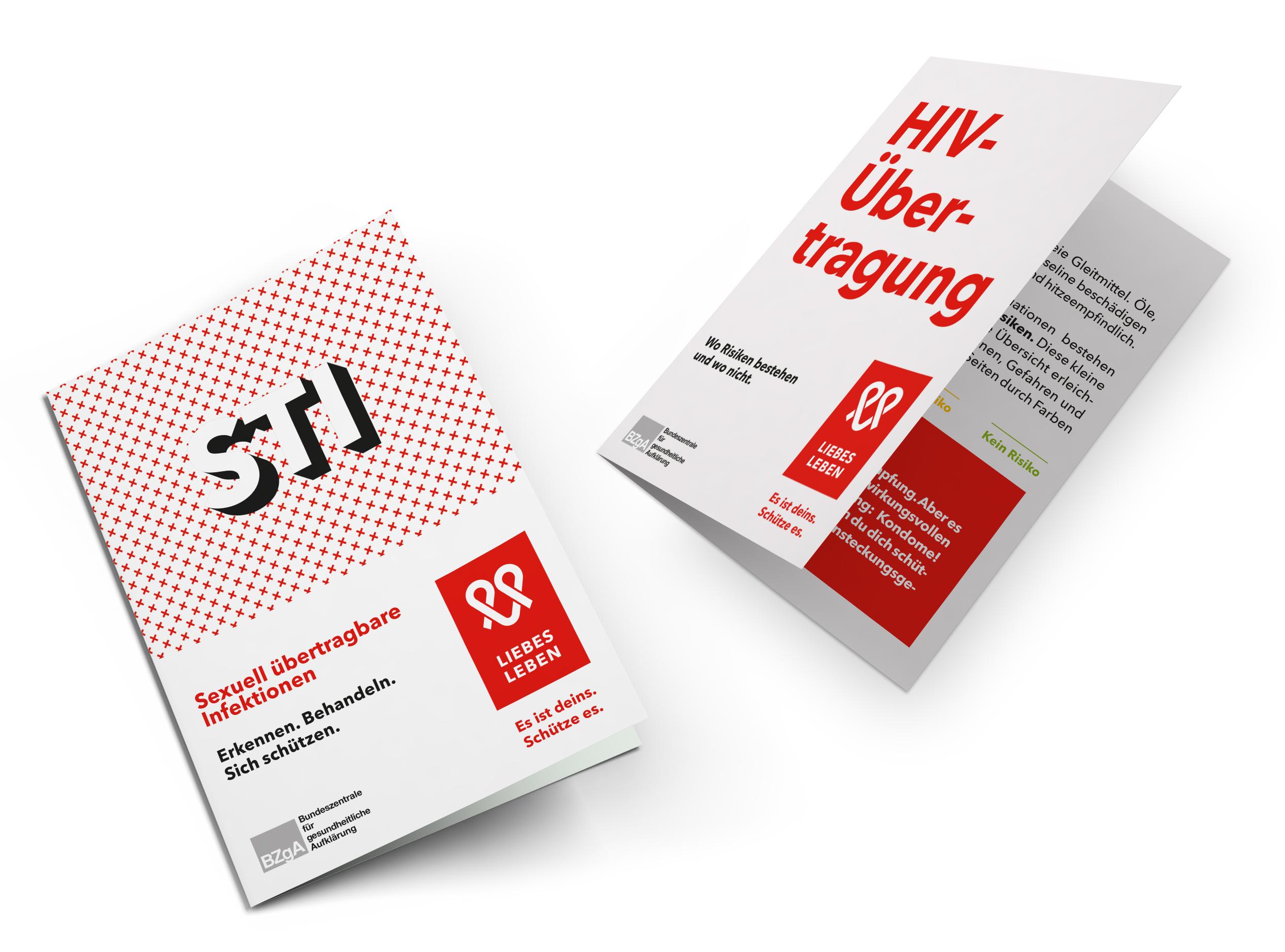 Bild zu Broschüren und weitere Informationsmaterialien zu HIV und anderen sexuell übertragbaren Infektionen (STI)