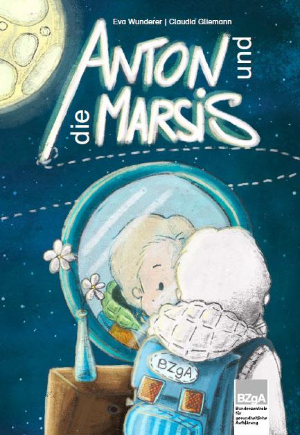 Bilderbuch Anton und die Marsis