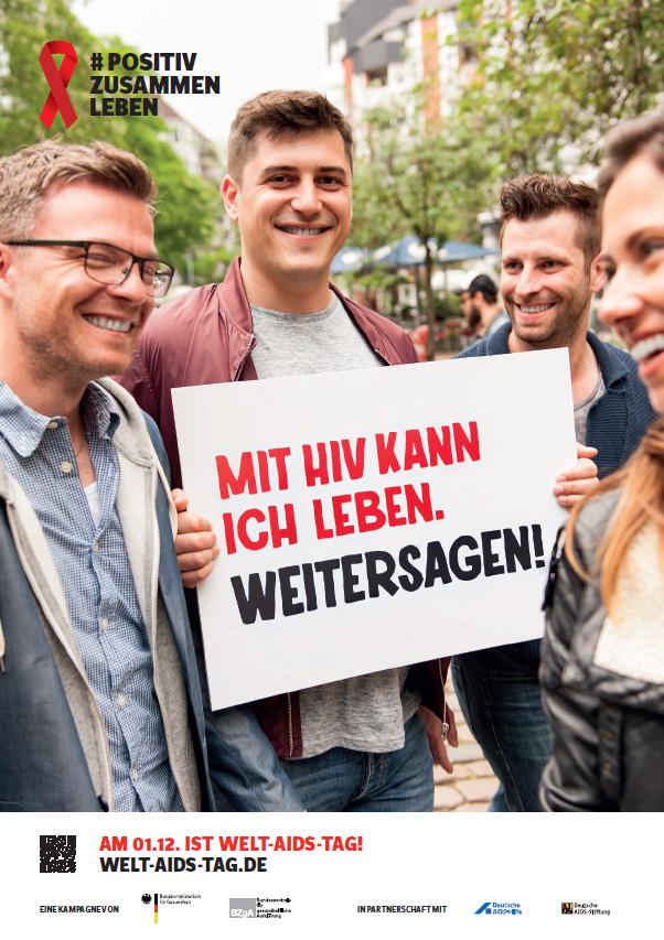 """Bild zu DIN A2-Plakat Motiv """"Weitersagen"""""""