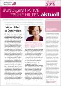 Bild zu Bundesinitiative Frühe Hilfen aktuell. Ausgabe 3/2015