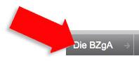 "Screenhot bzga.de - Ausschnitt mit Rubriküberschirft ""Die BZgA"""