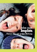 Titelblatt der Broschüre: Infos zum Impfen - Kleiner Piks mit großer Wirkung -Deutsch