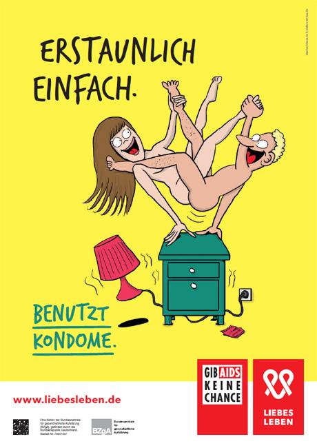 """Bild zu LIEBESLEBEN 2016 - Plakat Motiv """"Kunststück"""""""