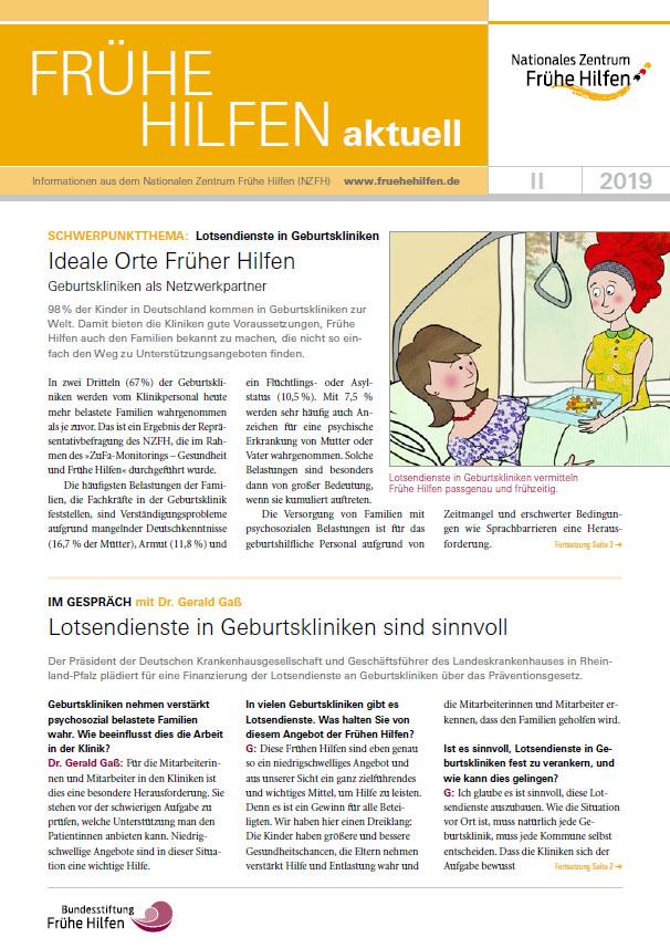 Frühe Hilfen aktuell. Ausgabe 2/2019