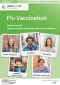 Bild zu Grippeimpfung - Schützen Sie sich. Jährliche Impfung für chronisch Kranke. - Englisch