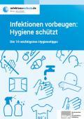 "Abbildung Broschüre ""10 Hygienetipps"""