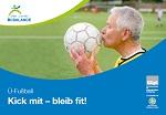 Broschüre Ü-Fußball - Kick mit - bleibt fit!