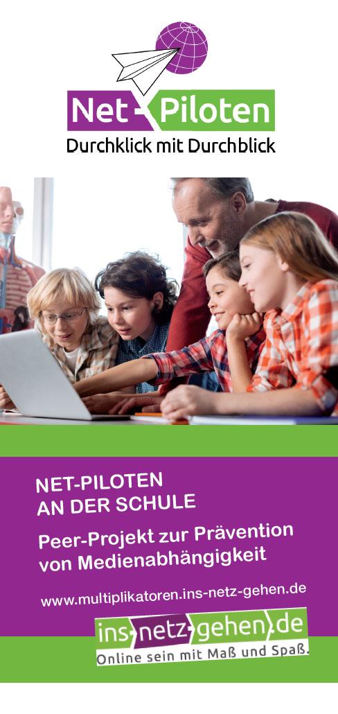 Net-Piloten an der Schule - Peer-Projekt zur Prävention von Medienabhängigkeit