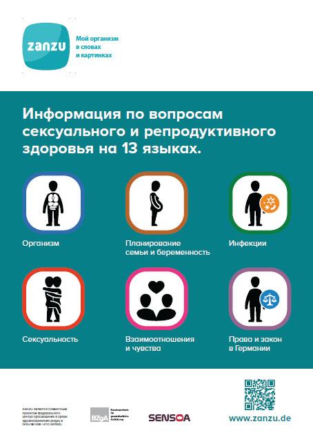Bild zu ZANZU Plakat (russisch)
